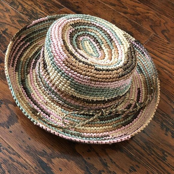 9cc7bb06d339b1 San Diego Hat Company Accessories - San Diego Hat - Lady's Crocheted Raffia  Hat